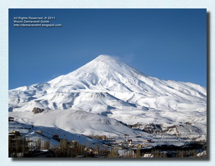 Mt Damavand Winter View