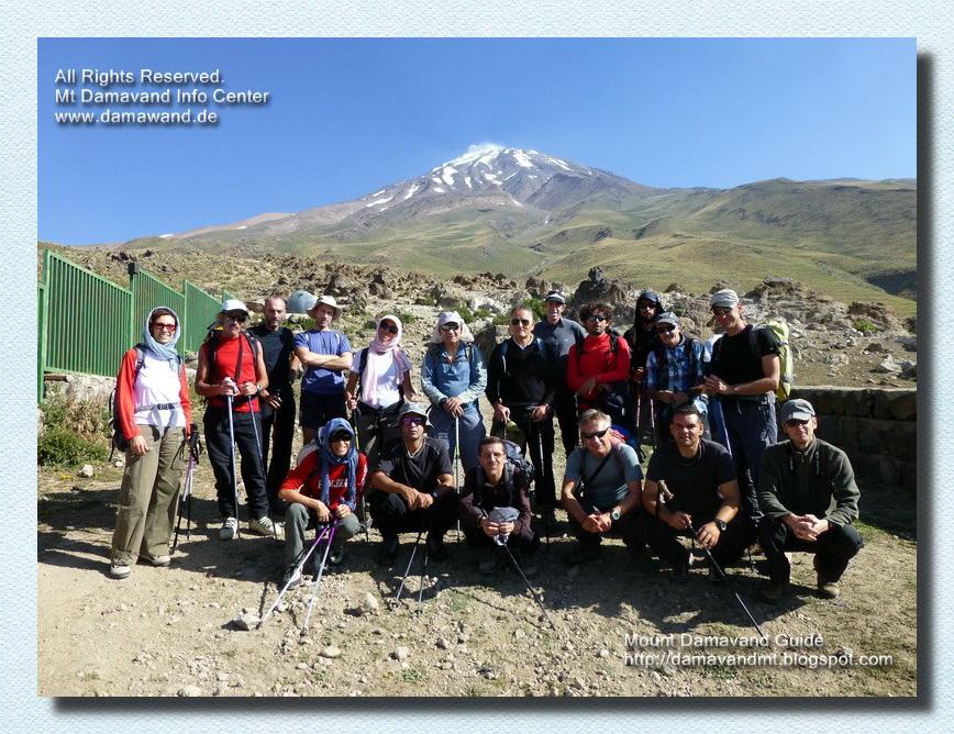 Damavand Camp2 Base, Gosfandsara