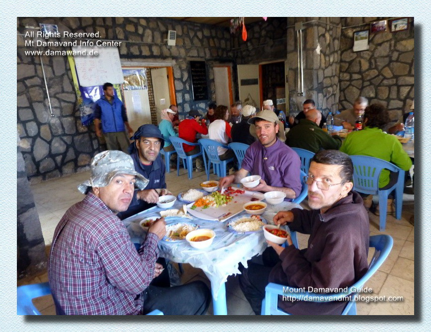 Mt Damavand Camp3 Bargah Sevom