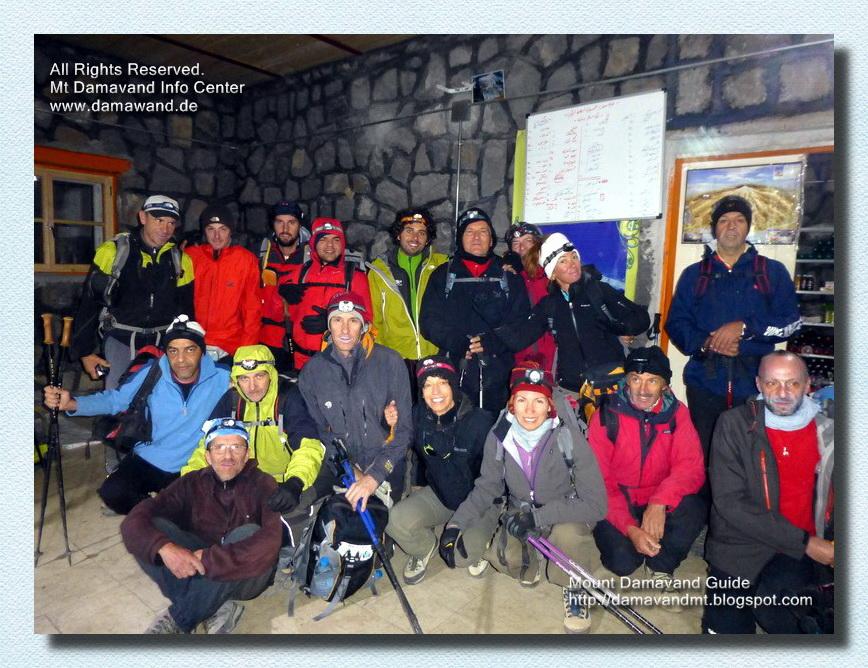 Damavand Camp3 New Hut