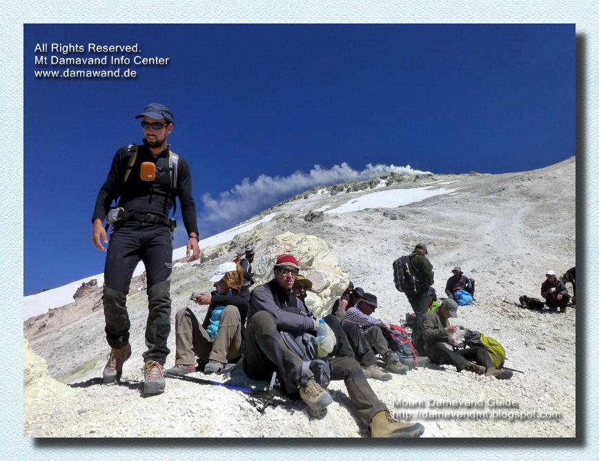 Mt Damavand Peak