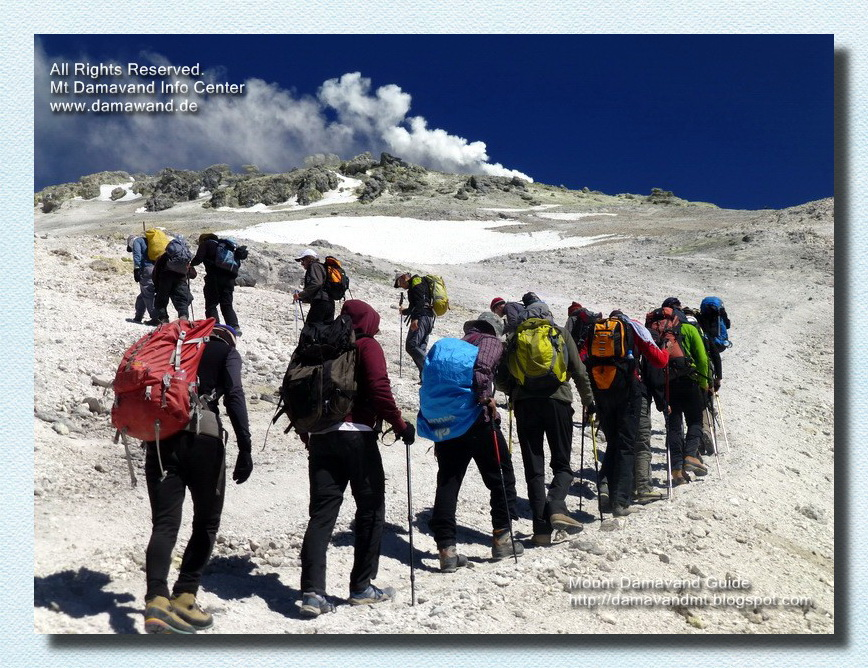 Trekking Tour to Damavand Summit