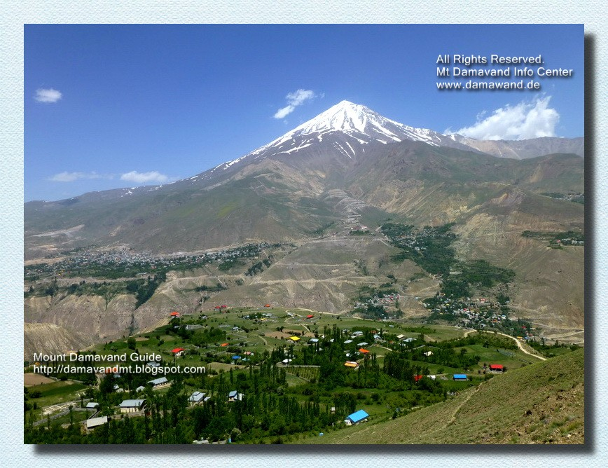 Mt Damavand Iran