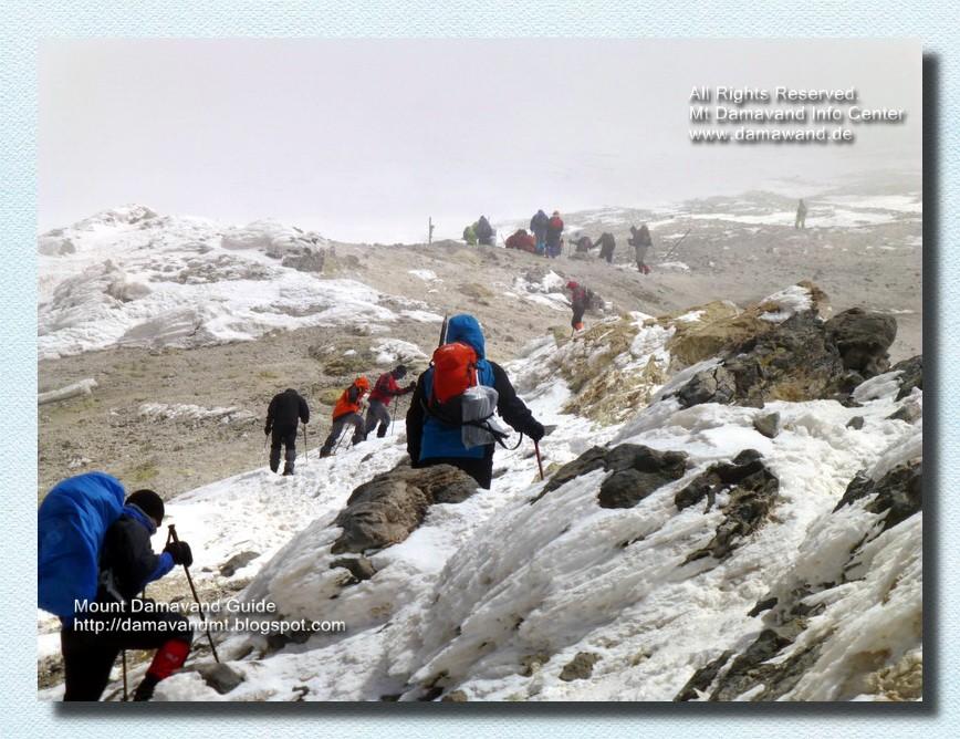 Damavand Iran Climbing Tour