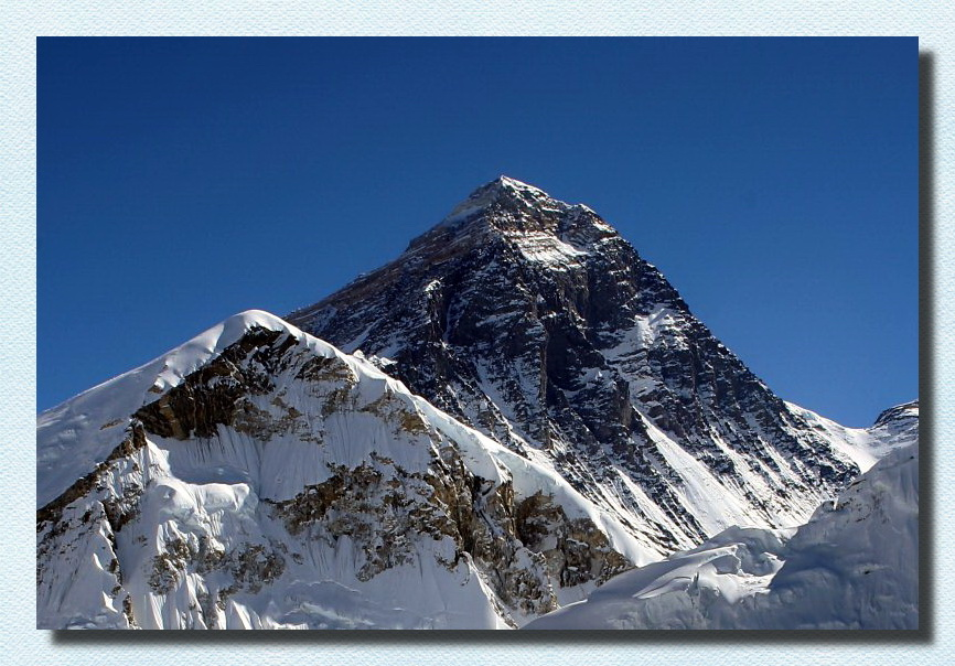 Everest from Kala Patthar in Nepal