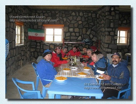 Damavand Camp3 New Hut