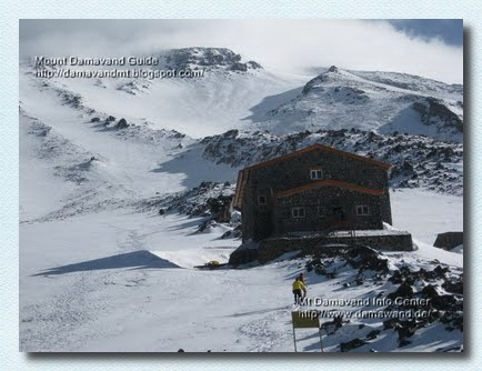 Mt Damavand Camp3 New Hut 4250m