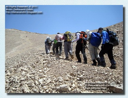 Hiking & Trekking Guided Tours Damavand