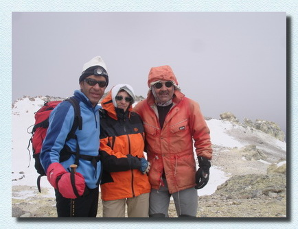 Climbing Tour Damavand Iran, Mt Damavand Peak, Spanish Team 2011